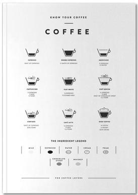 Coffee Chart Notebook