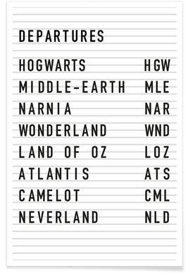 Fantasy Destinations -Poster