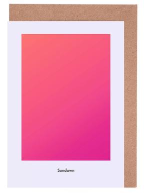 Sundown #8 -Grußkarten-Set