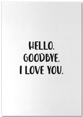 Hello Goodbye Notepad
