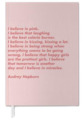 Believe in Pink agenda