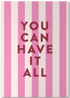 All Stripes Notebook