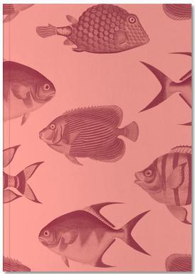Pattern Fish Notebook
