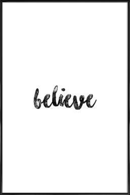 Believe Framed Poster