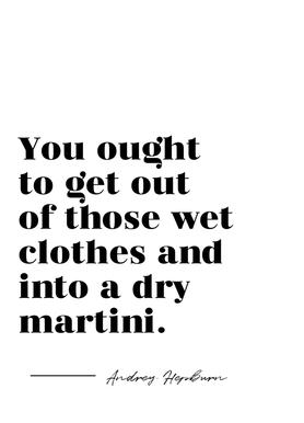 Dry Martini Canvas Print