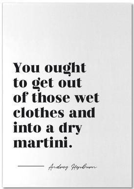 Dry Martini Notepad