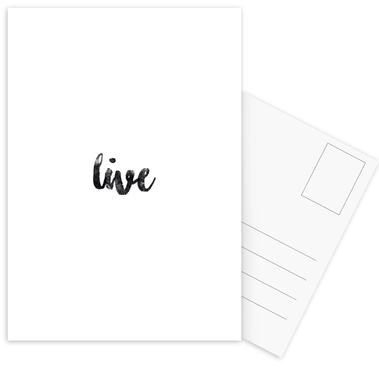 Live cartes postales