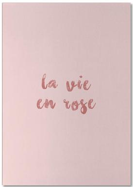 La Vie En Rose Notepad