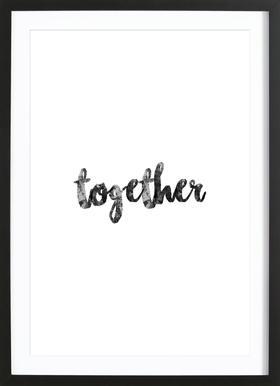 Together Framed Print