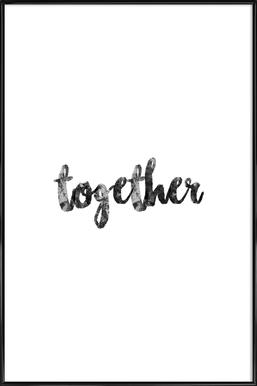 Together ingelijste poster