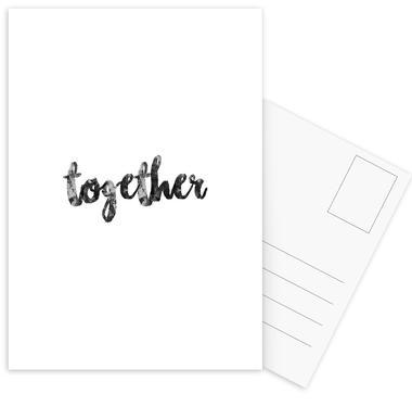 Together ansichtkaartenset