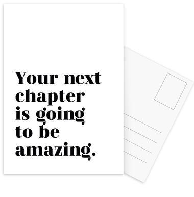 Next Chapter Postcard Set