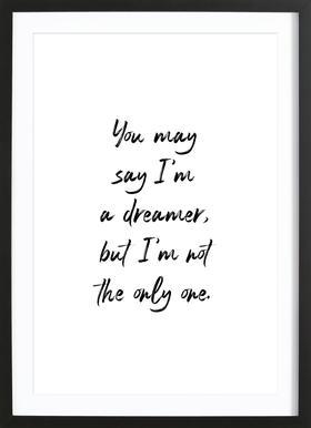 A Dreamer Framed Print