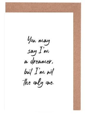A Dreamer Greeting Card Set