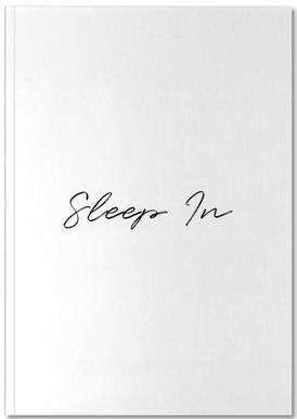 Sleep In Notebook