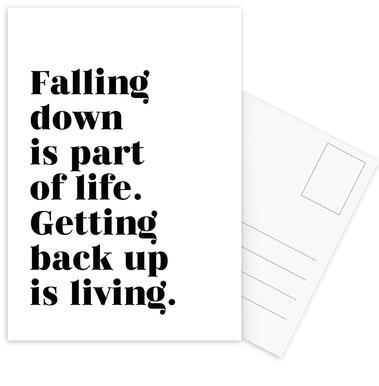 Get Back Up Postcard Set