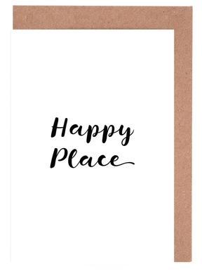 Happy Greeting Card Set