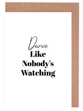 Dance Greeting Card Set