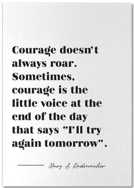 Courage Notepad