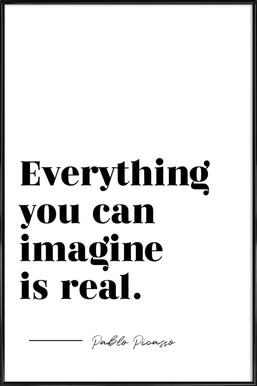 Everything is Real Framed Poster