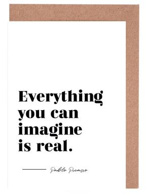 Everything is Real Greeting Card Set