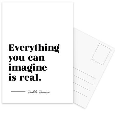 Everything is Real Postcard Set