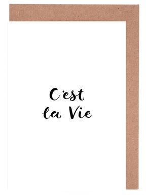 C'est la Vie cartes de vœux