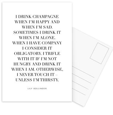 Champagne cartes postales