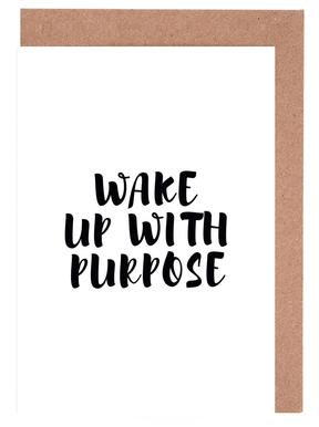 Wake Up Greeting Card Set