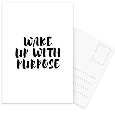 Wake Up Postcard Set