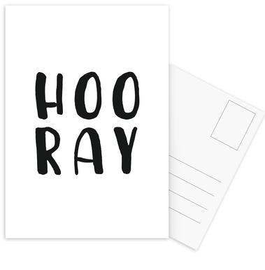 Hooray Postcard Set