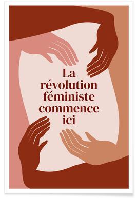 La Révolution Féministe Commence Ici I Poster