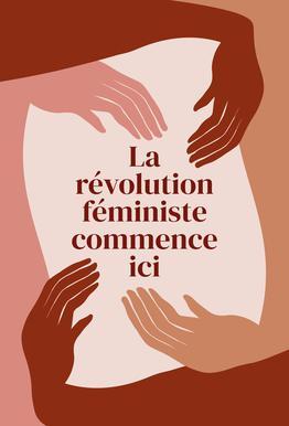 La Révolution Féministe Commence Ici I Acrylic Print