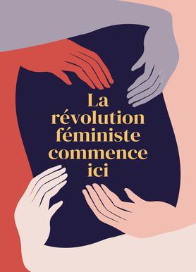 La Révolution Féministe Commence Ici II Canvas Print