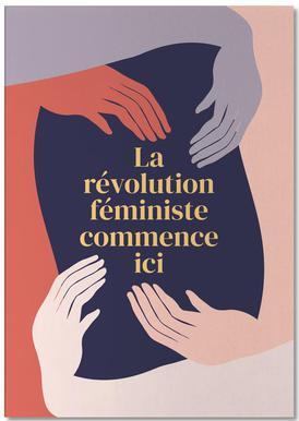 La Révolution Féministe Commence Ici II Notepad