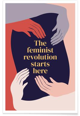 The Feminist Revolution Starts Here II Poster