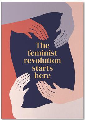 The Feminist Revolution Starts Here II Notepad