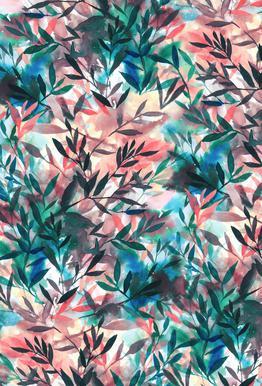 Changes Coral tableau en verre