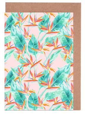 Birds Of Paradise Greeting Card Set