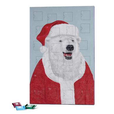 Polar Bear Santa 2019 Chocolate Advent Calendar - Ritter Sport