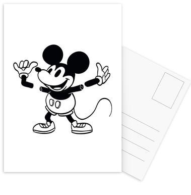 Mickey -Postkartenset