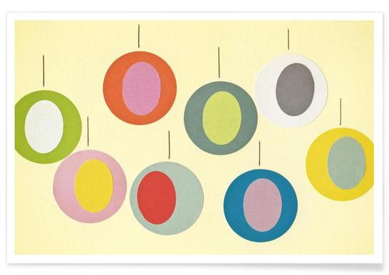 Christmas Baubles -Poster