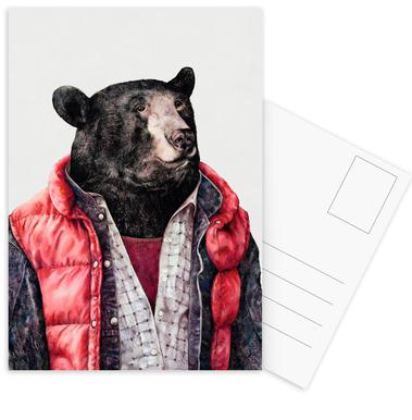 Black Bear cartes postales