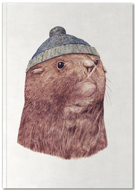 Fur Seal -Notizheft
