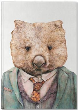 Wombat -Notizheft