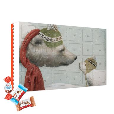 First winter 2019 Chocolate Advent Calendar - Kinder