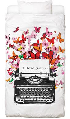 I Love You Bed Linen