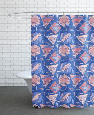Dino Serenity Quartzrose Shower Curtain