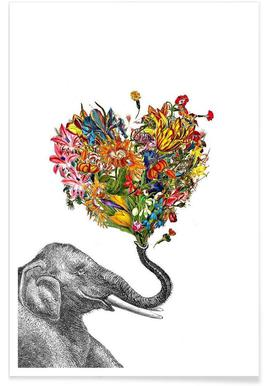 The Happy Elephant Poster