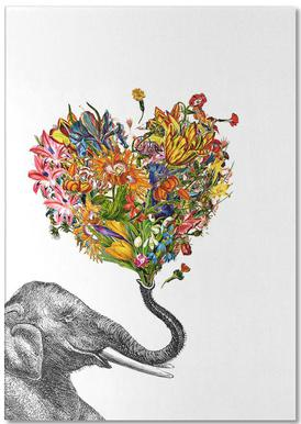 The Happy Elephant bloc-notes